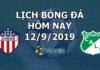 Lịch thi đấu bóng đá hôm nay ngày 12/9/2019 rạng sáng ngày 13/9/2019