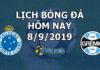 Lịch thi đấu bóng đá hôm nay ngày 8/9/2019 rạng sáng ngày 9/9/2019