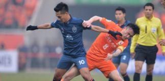 Shandong Luneng vs Tianjin Teda