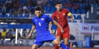 U22 Brunei vs U22 Thái Lan