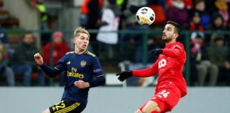 Standard Liege vs Arsenal