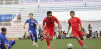 U22 Indonesia vs U22 Lào