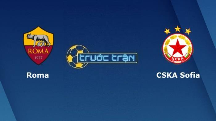 AS Roma vs CSKA Sofia– Soi kèo hôm nay02h00 17/09/2021 – Europa Conference League