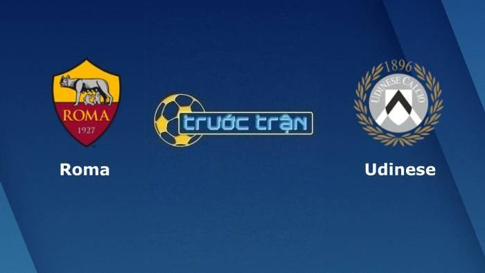 AS Roma vs Udinese – Soi kèo hôm nay 01h45 24/09/2021 – VĐQG Italia